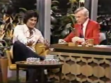 Uri Geller, Johnny Carson