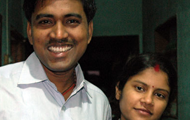 Kumar and wife