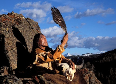 Mountain Top Medicine man