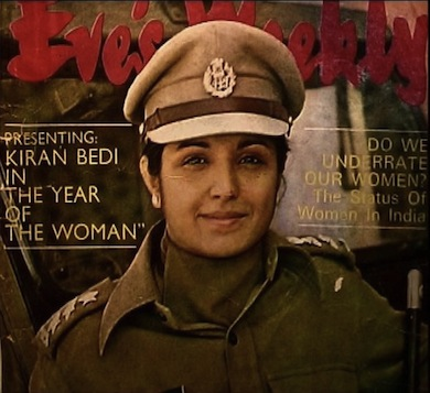 Kiran Bedi is truly an icon of heroism.