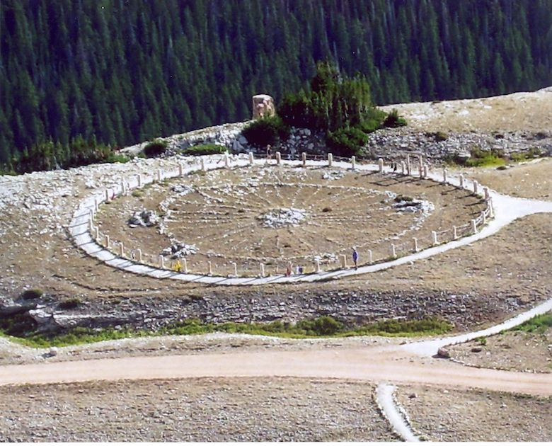The Medicine Wheel in Bighorn National Forest, Wyoming